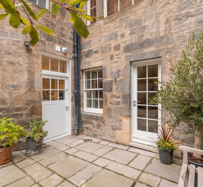 Exterior view of property in Queen Street, Edinburgh